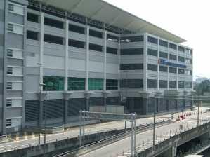 bangunan terminal BTS dr luar