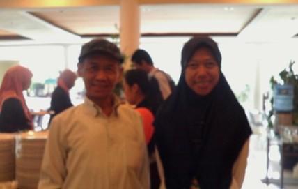 Bersama Pak Ahmad Tohari